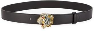 Gucci Animalier Leather Belt