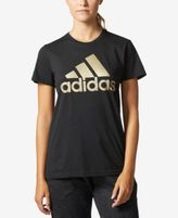 adidas Metallic Logo T-Shirt, Macy's Exclusive Style