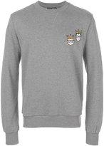 Dolce & Gabbana stylists patch sweatshirt