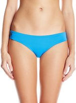 Maaji Women's Tintoretto Sky Cerulean Bauhaus Hipster Cut Reversible Bikini Bottom