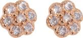 ginette_ny Diamond Lotus earrings