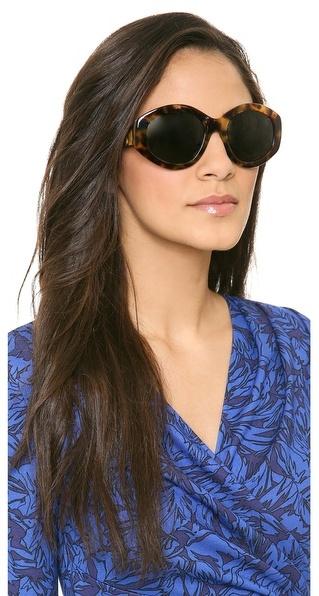 The Row Geometric Sunglasses