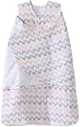 Halo Baby Girl SleepSack Chevron Muslin Swaddle