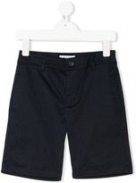 Woolrich Kids fitted chino shorts