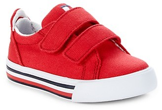 Tommy Hilfiger Baby Girl's Girl's Logo Striped Sneakers