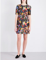 Mary Katrantzou Psychedelic-jacquard mini dress