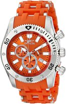 Invicta Men's 0139 Sea Spider Collection Chronograph Polyurethane Watch
