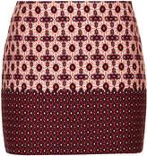Topshop Tile border pelmet skirt
