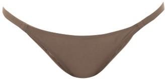ASCENO The Biarritz Low-rise Bikini Briefs - Brown