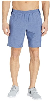 Nike Challenger Shorts 9 BF (Black/Black/Metallic Silver) Men's Shorts