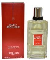 Guerlain Men's Habit Rouge by Eau de Toilette Spray - 3.4 oz