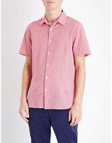 Orlebar Brown Roberts Gingham-print Cotton Shirt
