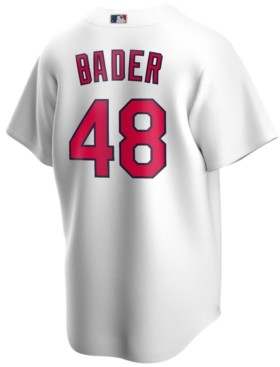 Nike Men's Harrison Bader St. Louis Cardinals Official Player Replica Jersey