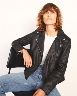 Jigsaw Clean Leather Jacket