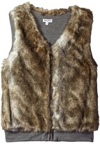 Splendid Littles Reversible Faux Fur Vest (Big Kids)