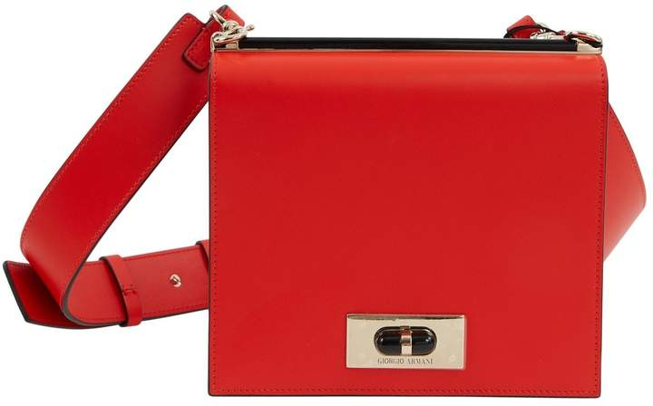 Giorgio Armani Leather crossbody bag