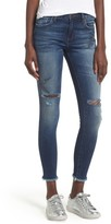 Women's Sts Blue Star Embroiderd Skinny Ankle Jeans