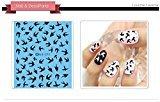 Nail Art Water Transfer Stickers Swallow Nail Sticker Tattoo - FashionDancing