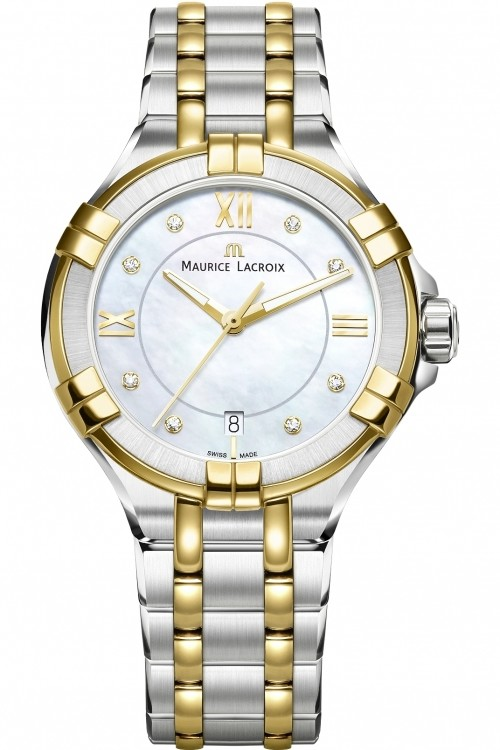 Maurice Lacroix Ladies Aikon Diamond Watch AI1006-PVY13-171-1