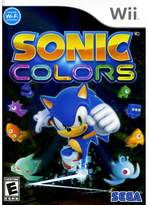 Nintendo Sonic Colors Wii