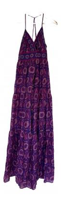 BA&SH Spring Summer 2020 Purple Silk Dresses