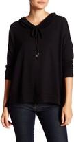 Bobeau Long Sleeve Cowl Neck Sweater (Petite)