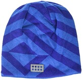 Lego Snow Beanie with Micro Fleece Lining and All Over Print (Little Kids/Big Kids) (Blue) Caps