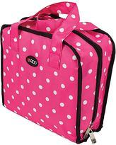 ROO BEAUTY Bitzee Cosmetic/Accessory Bag - Pink Polka Dot