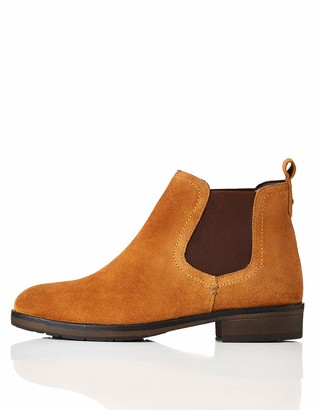 Find. Women's Casual Suede Chelsea Boots