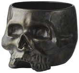 Williams-Sonoma Williams Sonoma Halloween Skull Punch Bowl, Brushed Gold