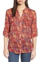 KUT from the Kloth Women's Jasmine Split Collar Shirt