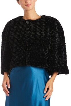 Night Way Nightway Faux-Fur Cape