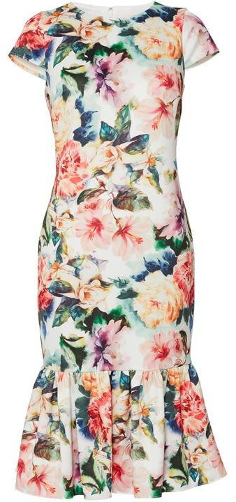 Gina Bacconi Harlene Lace Maxi Dress