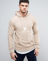 Devote Hoodie In Stone With Logo