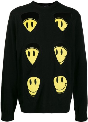 Raf Simons Multi-Patch Knitted Jumper