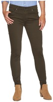 Agave Denim Harlowe Twill Skinny Fit in Forest Night Women's Jeans
