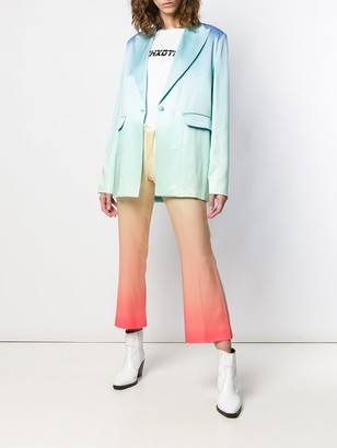 Each X Other Rainbow Oversized Blazer