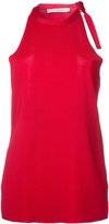Dion Lee shoulder tie knitted tank - women - Viscose - 6
