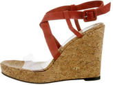 Christian Louboutin Multistrap Cork Wedges