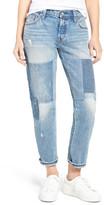 Levi's Levi&s Levi&s(R) 501(R) CT Boyfriend Jeans (Stacked Patch Blue)