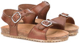 Pépé Kids - buckle detail sandals - kids - Leather/rubber - 22