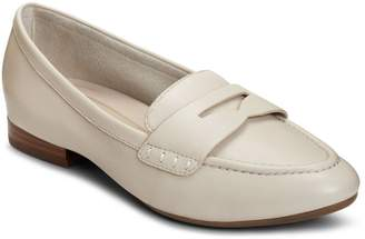 Aerosoles Womens Map Out Leather Penny Loafers
