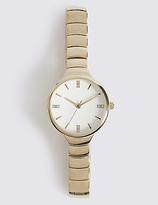 M&S Collection Steps Bracelet Round Face Watch