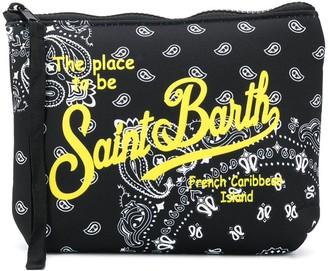MC2 Saint Barth Bandana Print Scuba Pochette