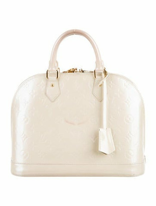 Louis Vuitton Vernis Alma PM Blanc