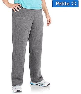 Danskin Women's Plus-Size Dri-More Straight Leg Pants, Available in Regular and Petite Lengths