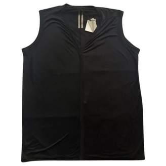 Rick Owens Black Silk T-shirts