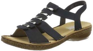 Rieker Women's 62850-14 Closed Toe Sandals