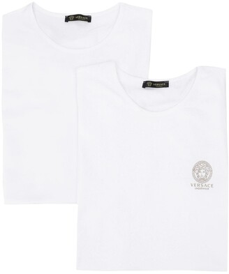 Versace Medusa logo print set of two T-shirts