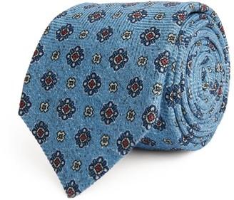 Kiton Silk Floral Tie